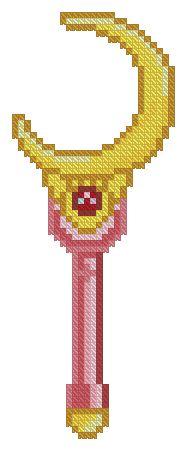 Free Sailor Moon cross stitch patterns