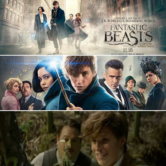 Counting down... one more hour and FANTASTIC BEASTS and WHERE to FIND THEM (from J.K. Rowling Wizarding World) ----WILL BE RELEASED 12AM TONIGHT on 11/18/16.  I  will be going to see the movie tomorrow afternoon in 3D. I CANT WAIT!!! Who......(click to read and become apart of the conversation)