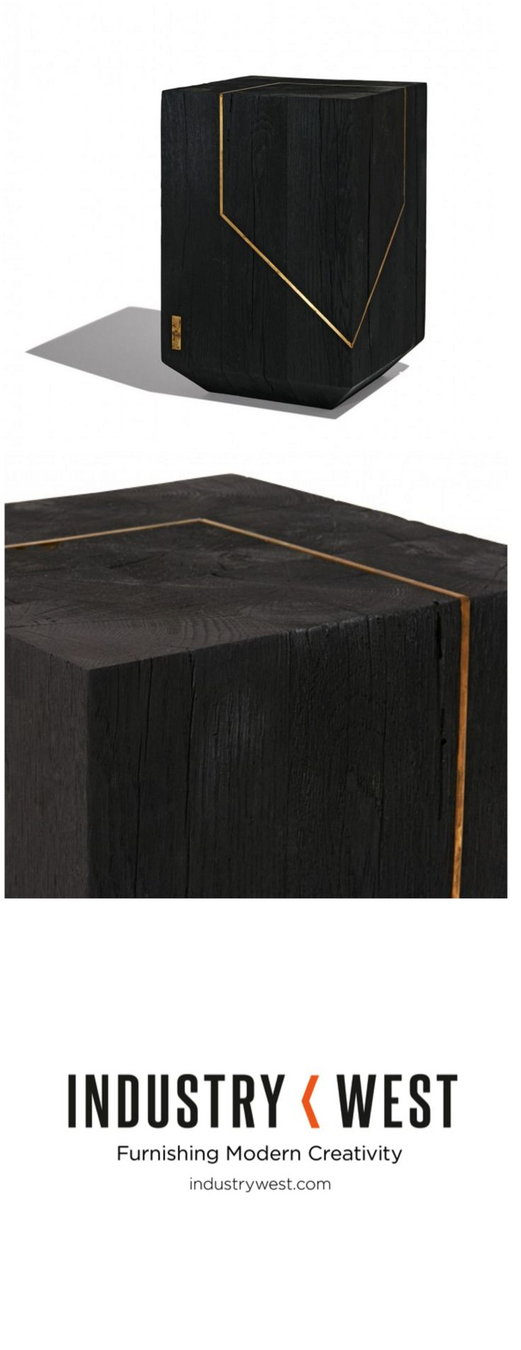 Slim round end table modern accent table with drawer calvin end table - Industry West Is Proud To Be The Exclusive U S Retailer Of The Bucharest Based Materia Studio Small Tablesend