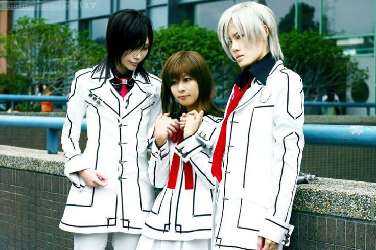 Vampire Knight cosplay. Kaname Kuran, Yuki Cross, and Zero ...