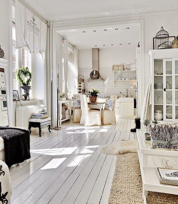 All white CAN be warm and inviting.