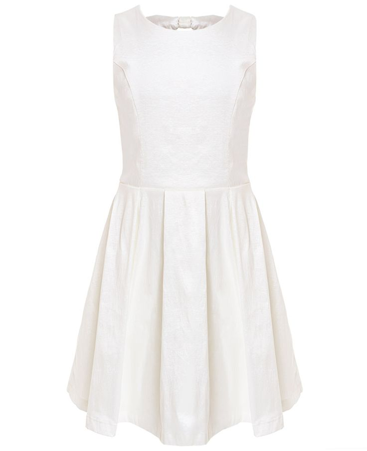 Girl's Bow Back Dress - Bardot Junior