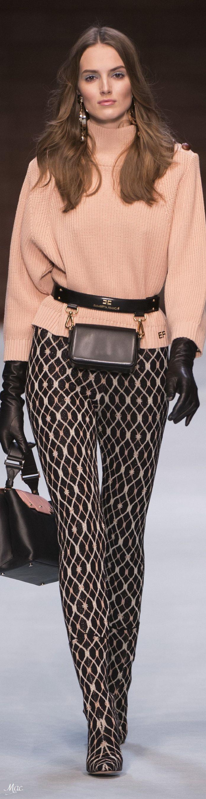 Belt for Women On Sale, Black, Leather, 2017, 28 30 Elisabetta Franchi