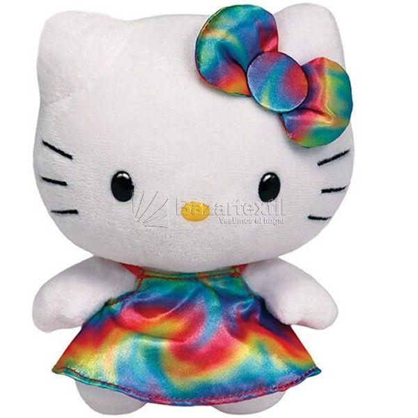 Peluche Hello Kitty Rainbow Ty