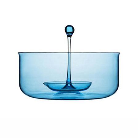 Sagaform Happy Days Punchbowl With Ladle, Blue
