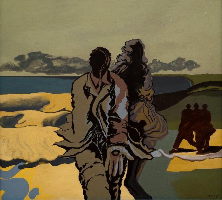 Geoff Thornley- Ocean within no. 8 - Auckland Art Gallery