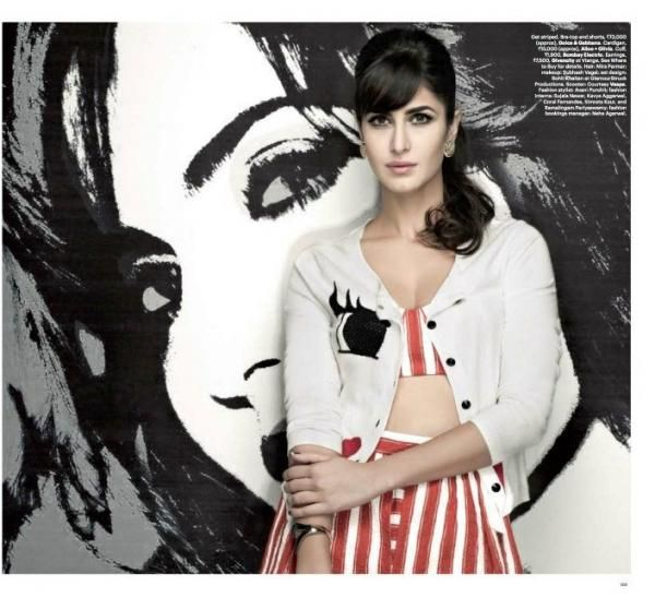 Katrina Kaif's Photoshoot for Harper's Bazaar India (March 2013) | PINKVILLA