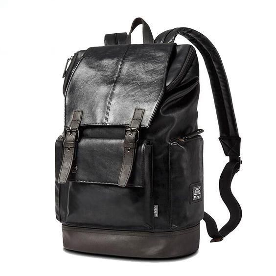 17 best Leather Men Backpack images on Pinterest | Leather ...