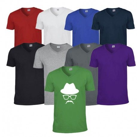 Tee shirt Homme Col V personnalisé
