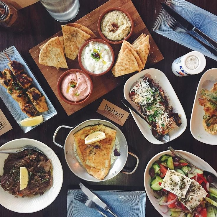"""THE BEST THING TO DO WHEN YOU WALK INTO A GREEK RESTAURANT IS SAY """"TA THELO OLLA""""  AND LEGIT THE GODS (aka @bahari_richmond) WILL MAKE SURE YOU AINT LEAVING HUNGRY   Follow us on Snap for more deets - ThePlateProject  Bahari Richmond. $$$-- by theplateproject"""