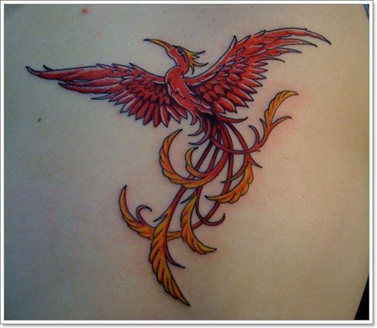 Phoenix Tattoo designs For Men (5)