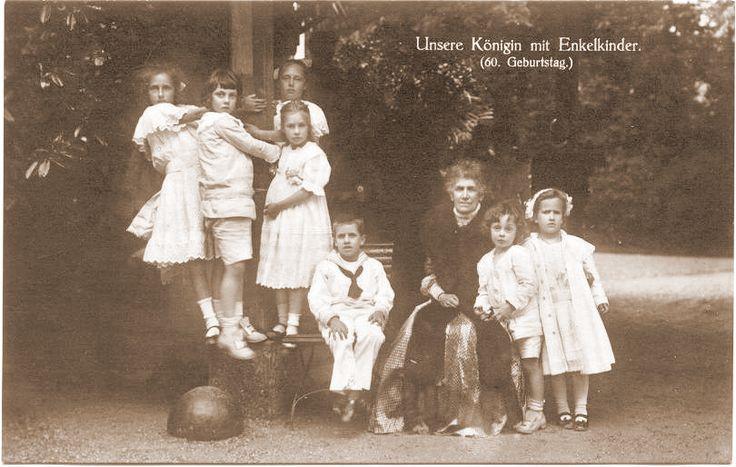 1909 60esimo compleanno della regina Maria Teresa di Baviera,