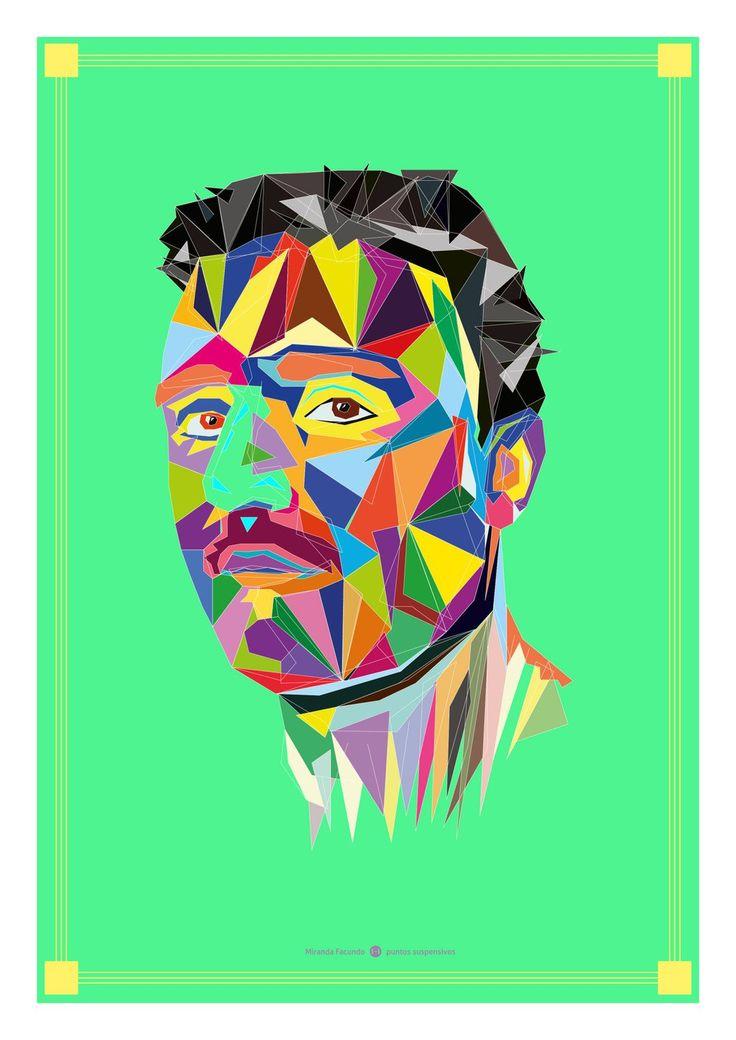 Ilustración digital - Retrato