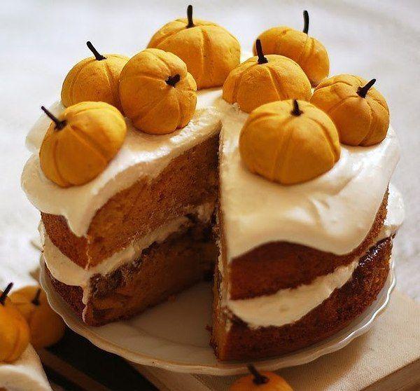 тыквенный торт             Фото из записи:
