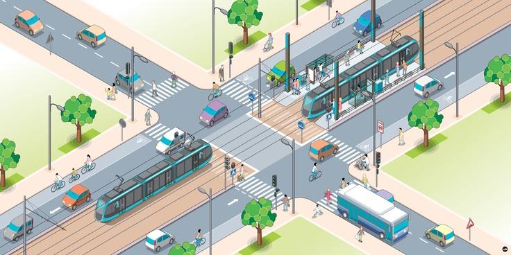 Le tramway - Grand Besançon