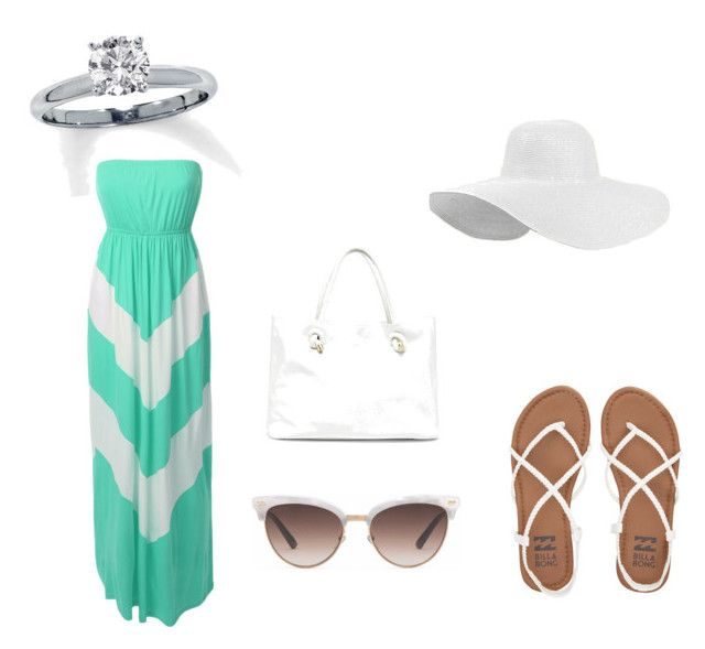 """""""Everyday[12]"""" by agentpalmer on Polyvore featuring LE3NO, Billabong, Gucci and Sole Society"""