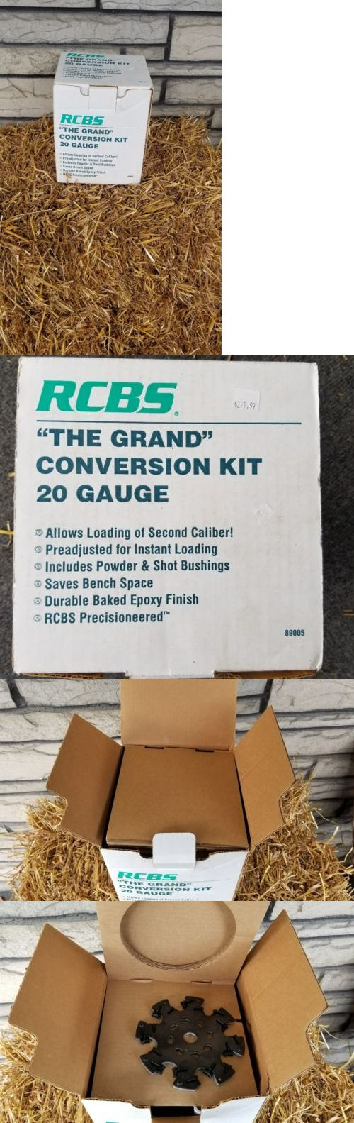 Presses and Accessories 71120: Nib Rcbs The Grand 20 Gauge Shotshell Reloading Conversion Kit #89005 -> BUY IT NOW ONLY: $120 on eBay!