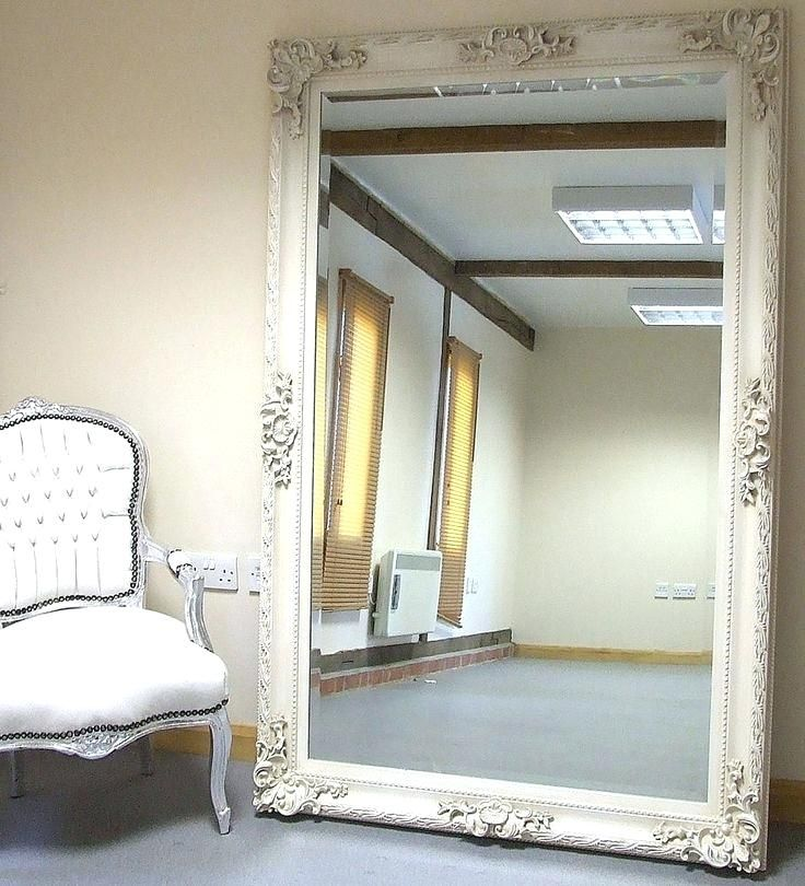 Top Large Floor Mirror 52 About Remodel, Oversized White Leaner Mirror