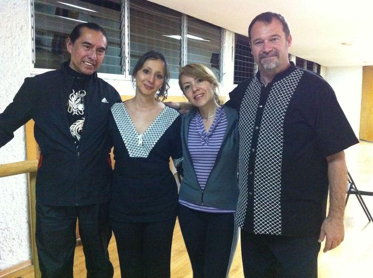 Workshop with Master Sam Masich & Yanira Masich in Mexico City. 5 seccion taichi style.