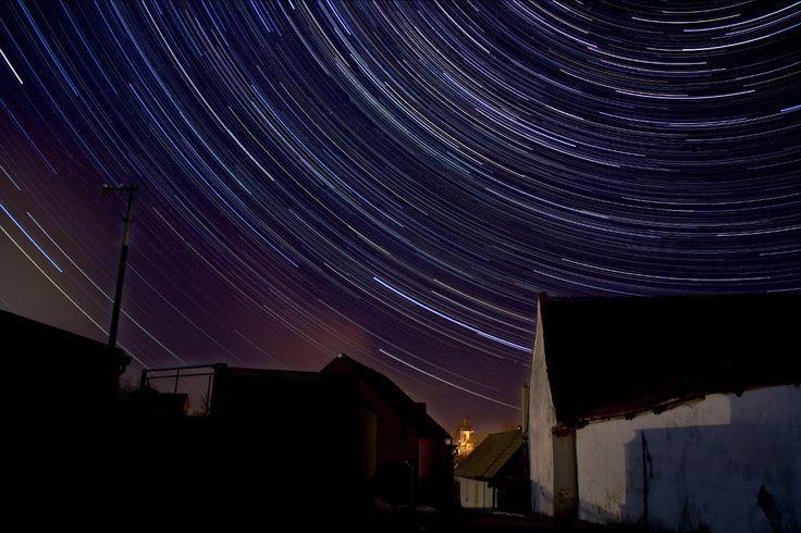 Časosběr z Chrášťan a okolí - time-lapse....