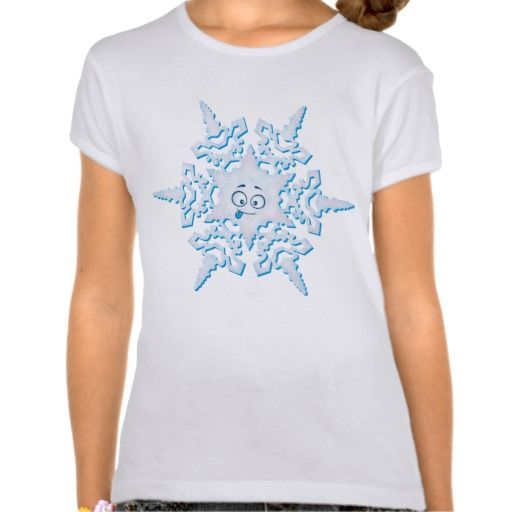 Crazy Snowflake Tee Shirt ~ Read more about The Lonely Snowflake http://www.frogburps.com/snowflake_sq #childrensbooks #thelonelysnowflake #frogburps #tshirt #childrensclothes #cute #childrensbooks #indiepublishers #indieauthors