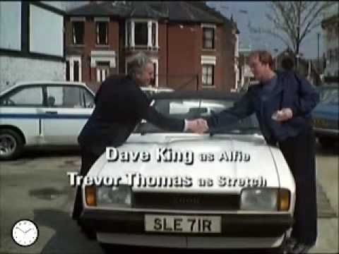 """Minder"" with Dennis Waterman as Terry McCann  and George Cole as Arthur Daley. British ITV 10 Series 1979-1994."