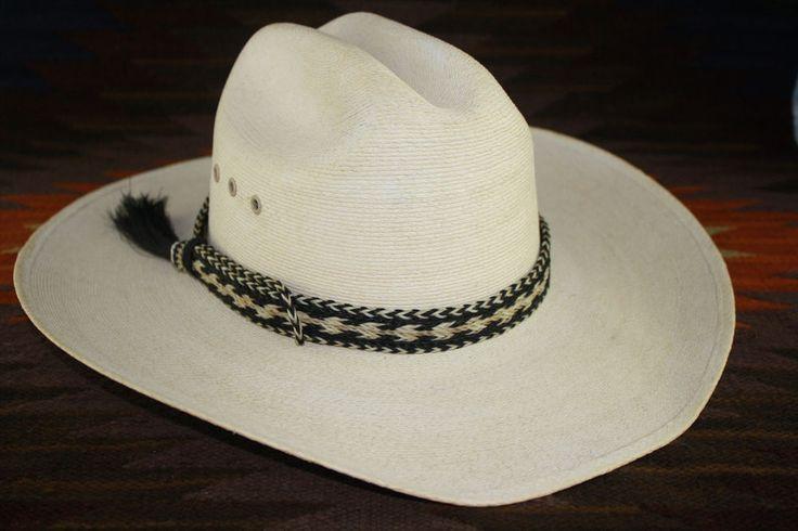 Western Cowboy Horse  Hair Hat band  (7 STRAND)  1 Tassel