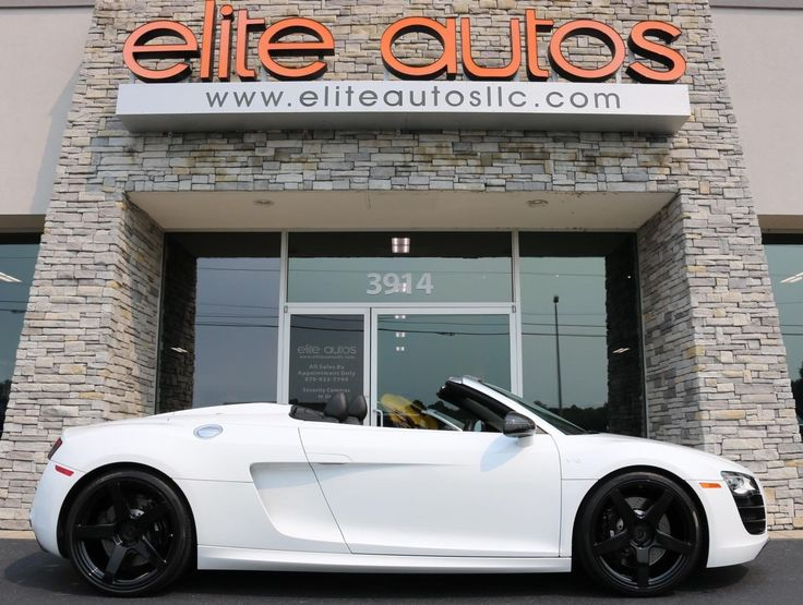 Cool Amazing 2012 Audi R8 5.2L 2012 Audi R8 5.2L 10,900 Miles Ibis White Convertible 10 Cylinder Engine 5.2L/31 2017 2018 Check more at https://24cars.gq/my-desires/amazing-2012-audi-r8-5-2l-2012-audi-r8-5-2l-10900-miles-ibis-white-convertible-10-cylinder-engine-5-2l31-2017-2018/