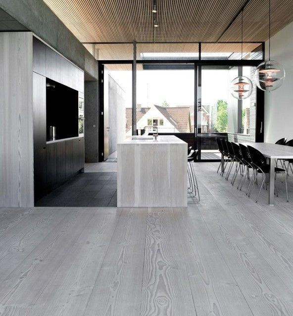 Light Gray Hardwood in Kitchen & Dining Rooms. Follow Nordarcon on Instagram, Facebook & Twitter.