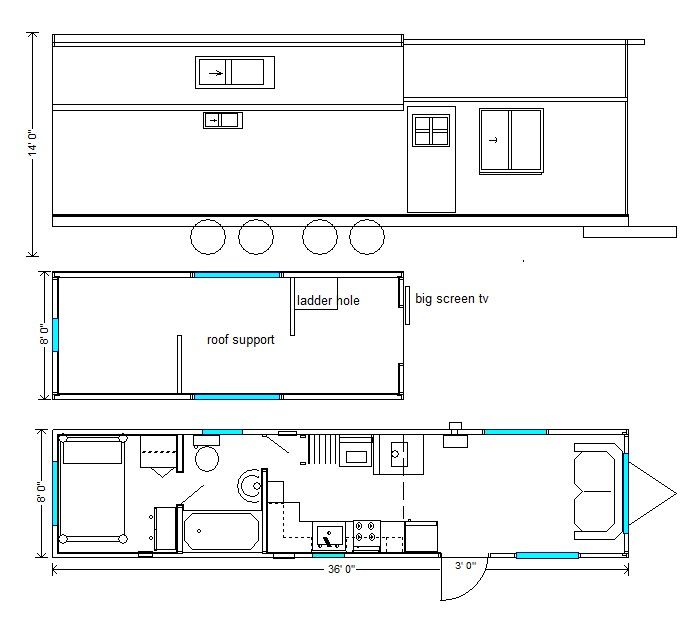 143 best Tiny House Plans images on Pinterest Small houses Tiny