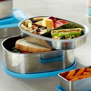 Stainless Steel Bento Box Pbteen Lunch Containers