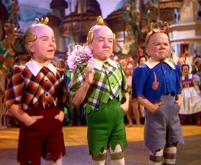 wizard of oz. - The Lollypop Man; we used to watch T dance with his very own lollypop!