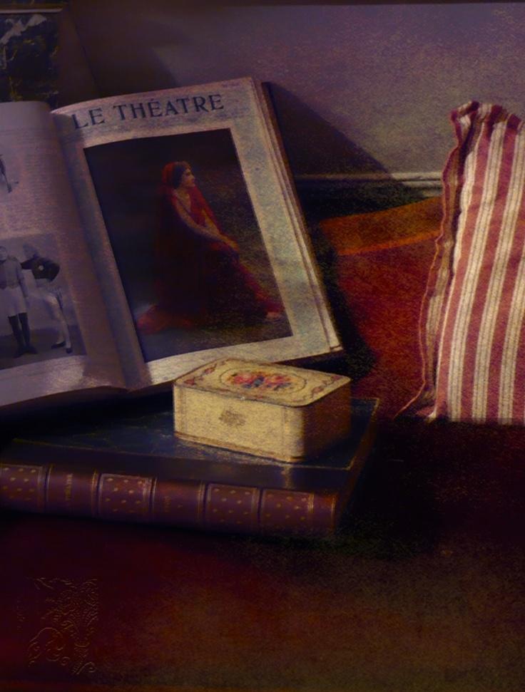 ! ✿ A rose affair ........© H.Flont: La Loge de théâtre - I -