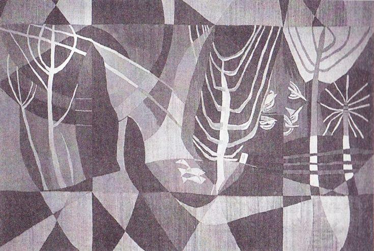 President Hotel tapestry by Cecil Skotnes 1970 (Johannesburg)