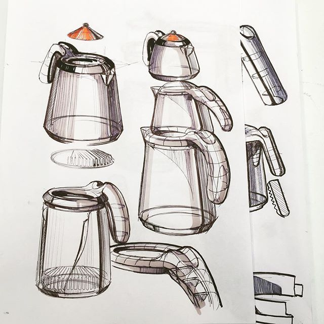 More teapot doodles #sketch #sketching #teapot #ID #idsketching #industrialdesign #productdesign #designsketching #illustration #draw #drawingaday #sketchaday