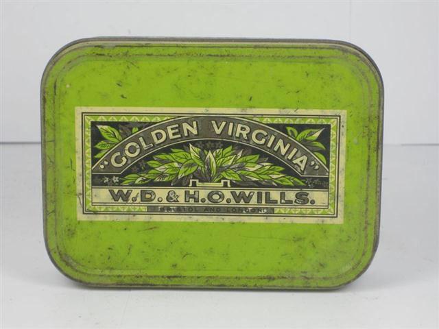 Golden Virginia tin