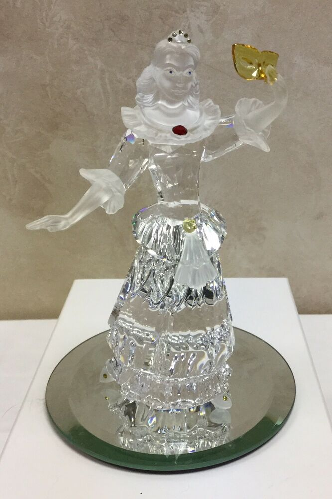1ea9c31b0 Swarovski Crystal Masquerade Columbine 2000 SCS Annual Edition With Box