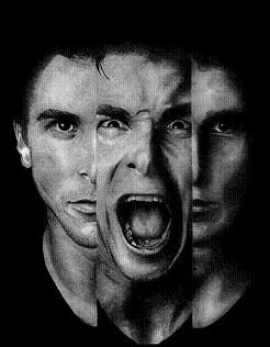oke oke, scary! But this is what we can find in a person, pain and angryness
