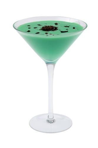 A delicious cocktail recipe for the Grasshopper cocktail with Cream, Creme De Cacao and Creme De Menthe. See the ingredients, how to make it, view instrucitonal videos, and even email or text it to you phone.