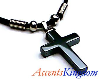 42 best crosses images on pinterest mens jewelry cross pendant black men cross necklaces mens stylish black hematite cross pendant necklace ebay aloadofball Image collections
