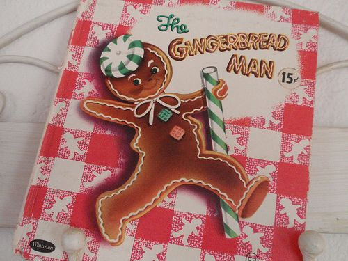 The Gingerbread Man vintage children's book