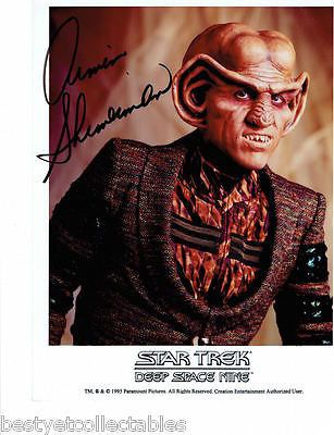 Armin Shimmerman Quark Star Trek Deep Space Nine Autograph Signed Licensed Photo