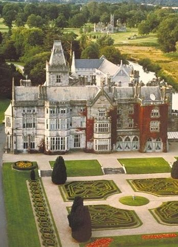 Adare Manor ~ 19th century man house located on the banks of the River Maigue, County Limerick, Munster, Ireland