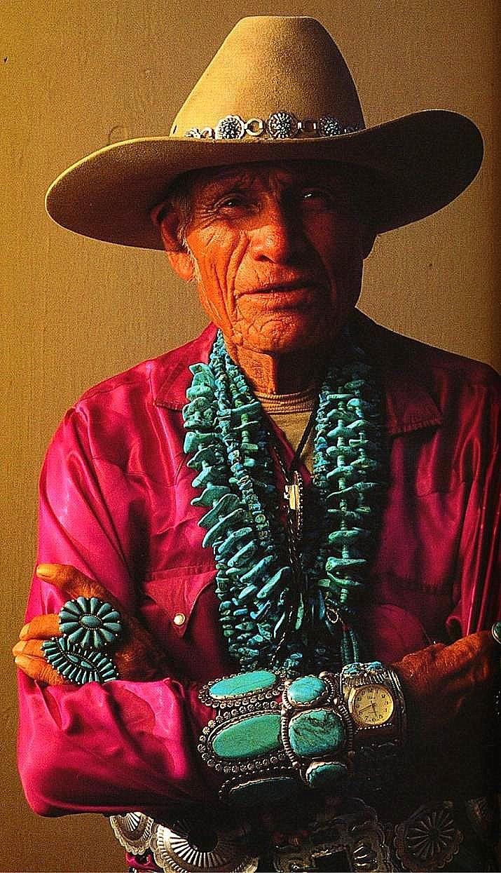Chunky turquoise jewelery