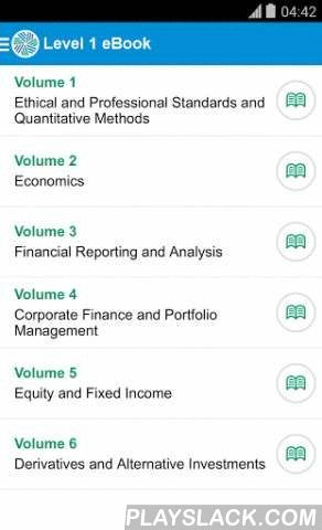 CFA Program Study App  Android App - playslack.com , CFA® Program candidates report spending more than 300 hours preparing for each exam. Make the most of your study time with the CFA Program Mobile App. The app brings trusted CFA Institute resources to your fingertips for access anytime, anywhere. The CFA Program Mobile App allows registered candidates to:● Read the full curriculum on a mobile device while recording notes, bookmarking content, and highlighting text● Structure your study…