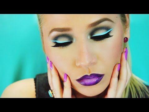 Makeup ombretti neon e eyeliner - VideoTrucco