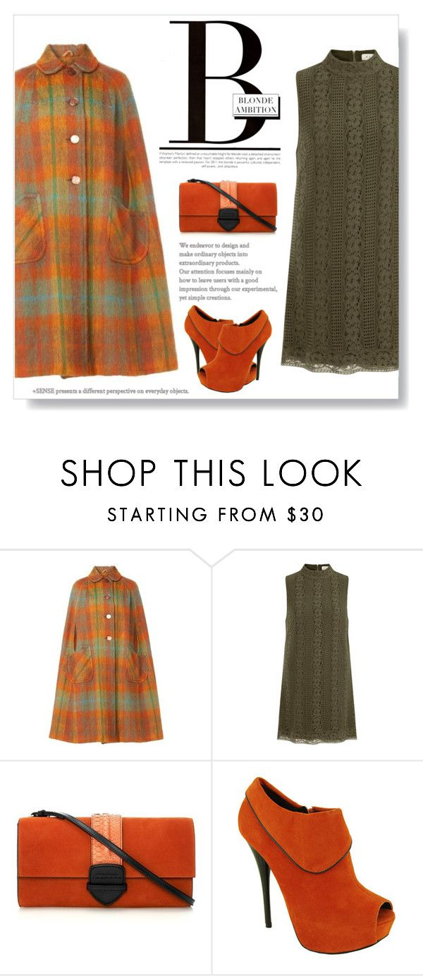 """Plaid Coat"" by juliehalloran ❤ liked on Polyvore featuring Elvi, Morgan and Pauric Sweeney"