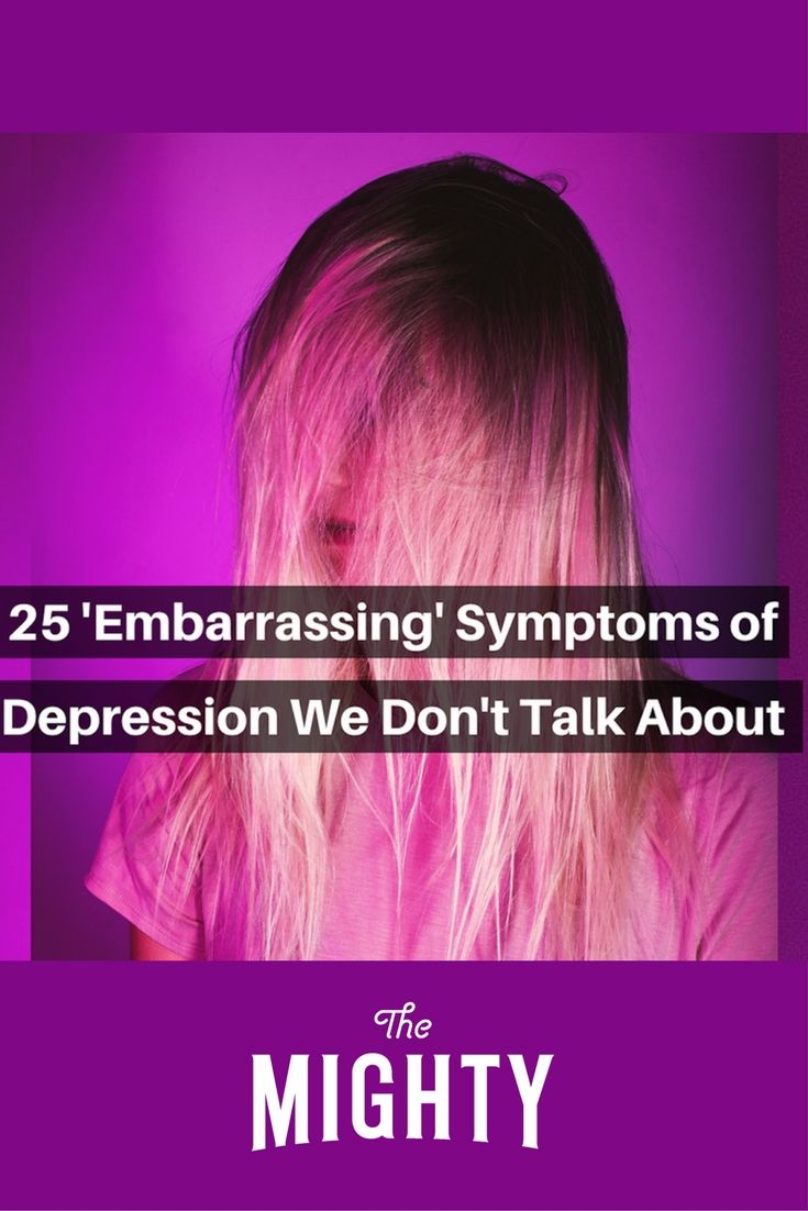 25 'Embarrassing' Symptoms of Depression We Don't Talk About