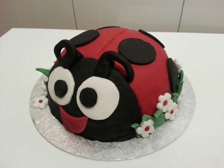 Ladybird cake for a 4th birthday.