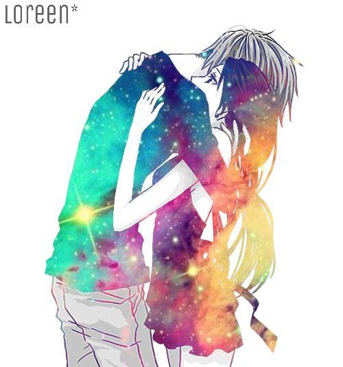 Cool anime couple art                                                       …